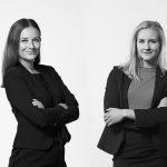 Jenny Forsberg och Stephanie Stensson från Moll Wendén föreläser på frukostklubben