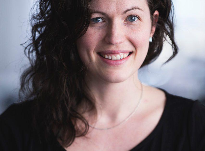 Jonna Ekman från KIT besöker lunchklubben