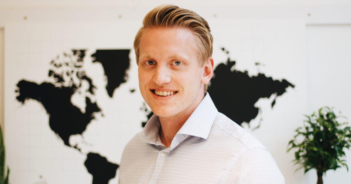 Johan Åberg besöker Marknadsföreningen